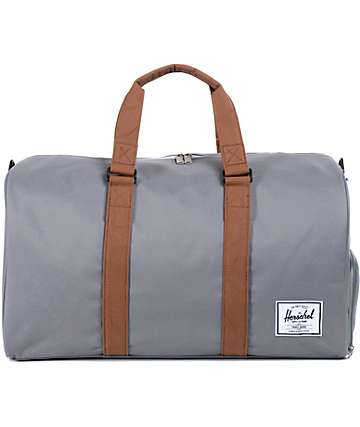Herschel Supply Novel Grey 42.5L Duffel Bag