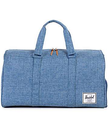 Herschel Supply Novel bolso barrel azul 42.5L