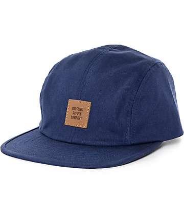 Herschel Supply Owen Navy Unstructured Hat