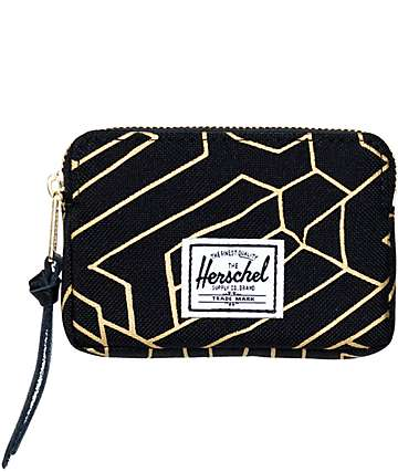 Herschel Supply Oxford Gold Geo Pouch