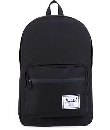 Herschel Supply Pop Quiz All Black 20L Backpack