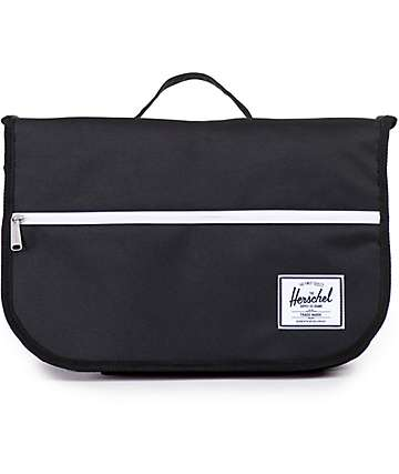 Herschel Supply Pop Quiz Black 15L Messenger Bag