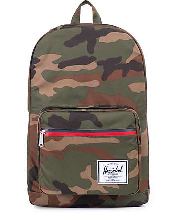 Herschel Supply Pop Quiz Camo 20L Backpack