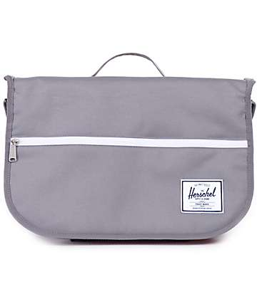 Herschel Supply Pop Quiz Grey 12.5L Messenger Bag