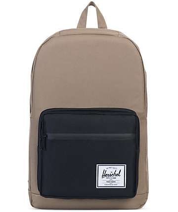 Herschel Supply Pop Quiz Lead Green & Black 22L Backpack