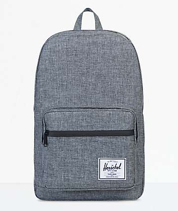 Herschel Supply Pop Quiz Raven Crosshatch 20L Backpack