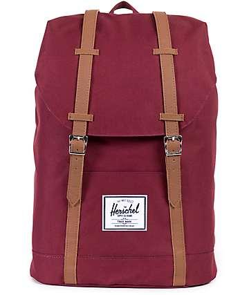 Herschel Supply Retreat Windsor Wine 22.5L Backpack