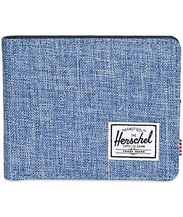 Herschel Supply Roy Limoges Crosshatch & Peacoat Bifold Wallet