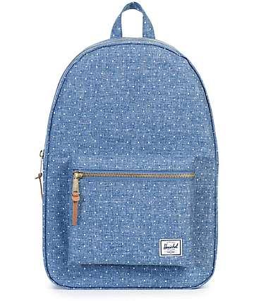 Herschel Supply Settlement Limoges Crosshatch Polka Dot 17L Backpack