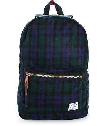 Herschel Supply Settlement Watch Plaid 20L Backpack