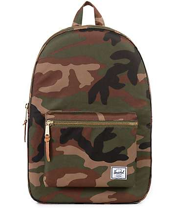 Herschel Supply Settlement Woodland Camo 23L Backpack