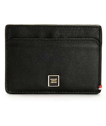 Herschel Supply Slip Tokyo Leather Cardholder Wallet