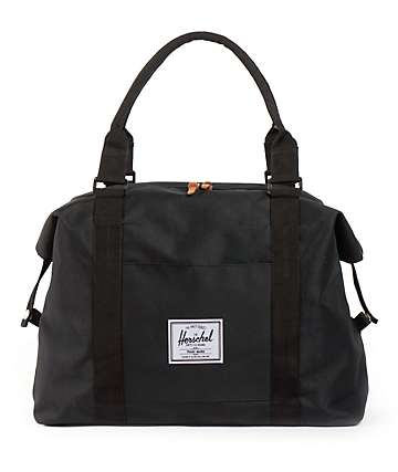 Herschel Supply Strand Black 20L Duffel Bag