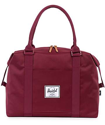 Herschel Supply Strand Windsor Wine 28.5L Duffel Bag