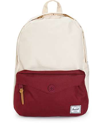 Herschel Supply Sydney Natural & Windsor Wine 12.5L Backpack