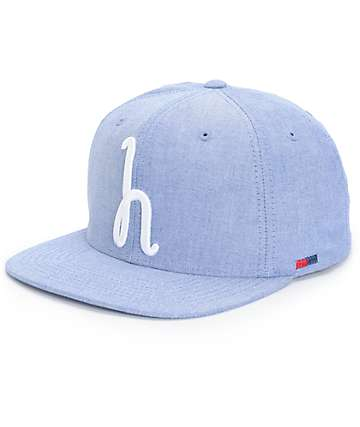 Herschel Supply Toby Chambray Snapback Hat