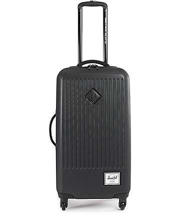 Herschel Supply Trade Large Black 63L Hard Shell Roller Bag