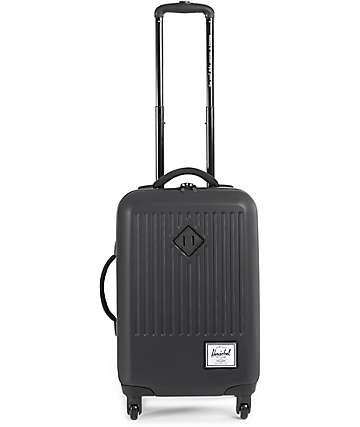 Herschel Supply Trade Small Black 44L Hard Shell Roller Bag