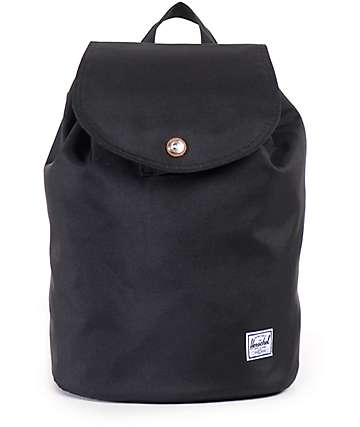 Herschel Supply Ware Black 10.75L Rucksack Backpack