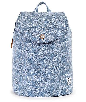 Herschel Supply Ware Floral Chambray 10.75L Rucksack Backpack