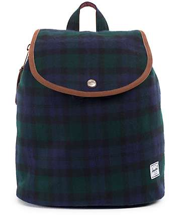 Herschel Supply Ware Watch Plaid 10.75 Rucksack Backpack