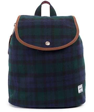 Herschel Supply Ware Watch Plaid 10.75 Rucksack Backpack