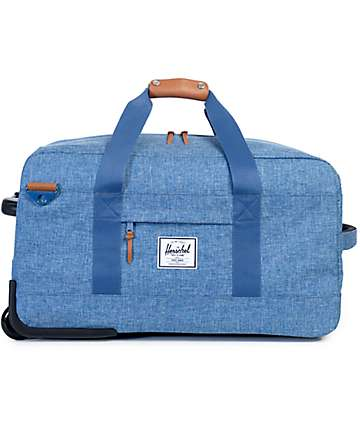 Herschel Supply Wheelie Outfitter Limoges Crosshatch 81L Roller Bag