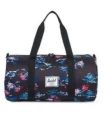 Herschel Sutton Floral Blur 28L Duffle Bag