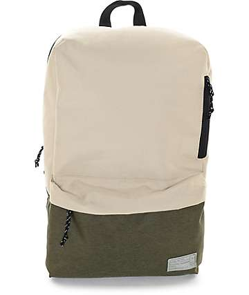 Hex Exile Khaki & Olive Backpack