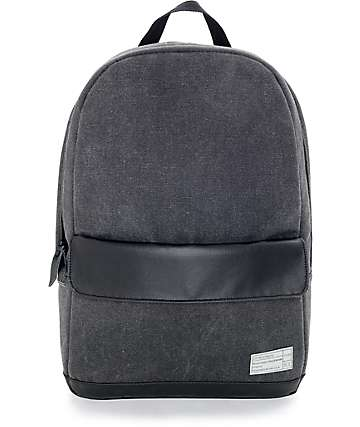 Hex Stinson Echo Charcoal Canvas Backpack