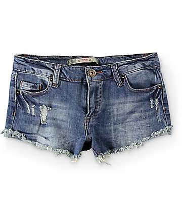 Highway Jeans Lana Medium Wash Denim Shorts