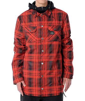 Holden Tarquin 10K Red Mens Snowboard Jacket