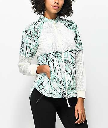 Hologram Elia White Print Jacket