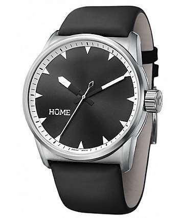 Home C-Class Black & Tan Swiss Analog Watch