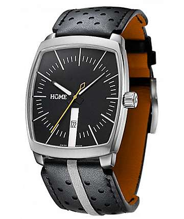 Home G-Class Black & Orange Analog Watch