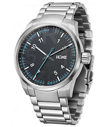 Home R-Class Classic Silver Swiss Analog Watch