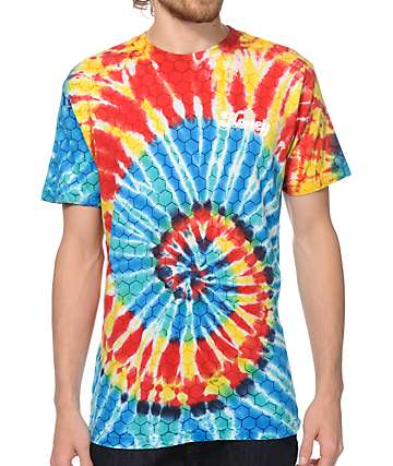 Honey Brand Co Boogie Nights Tie Dye T-Shirt