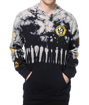 Honey Brand Co Mitch Logo Tie Dye Hoodie