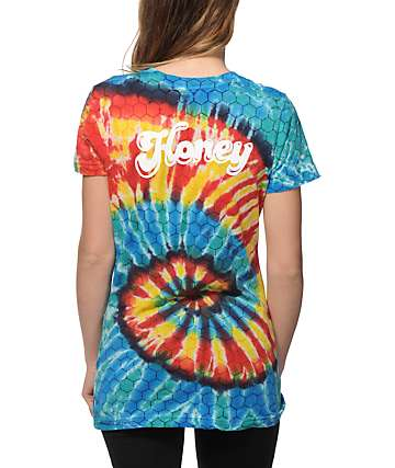 Honey Brand Co. Boogie Nights Tie Dye T-Shirt