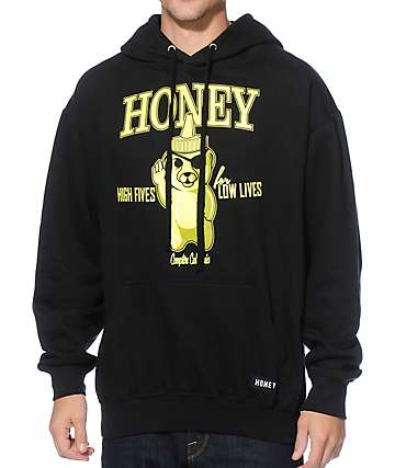 Honey Brand Co. High Five Neon Hoodie