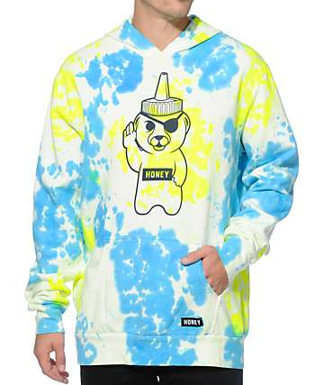 Honey Brand Co. Low Life Tie Dye Hoodie