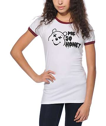 Honey Brand Co. Me So Honey Ringer T-Shirt