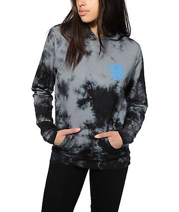 Honey Brand Co. Mitch Freshness Black Tie Dye Hoodie