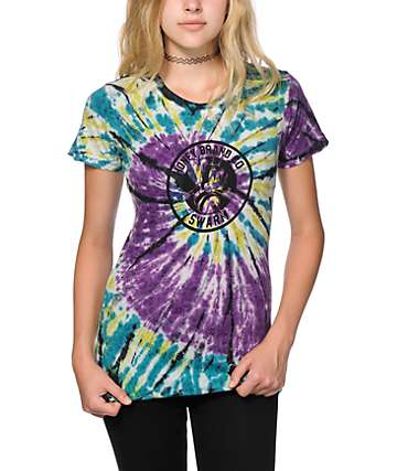 Honey Brand Co. Mitch Sketch Tie Dye T-Shirt