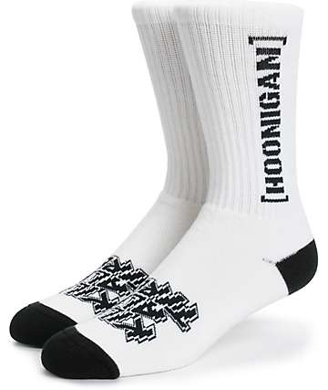 Hoonigan Bracket Crew Socks