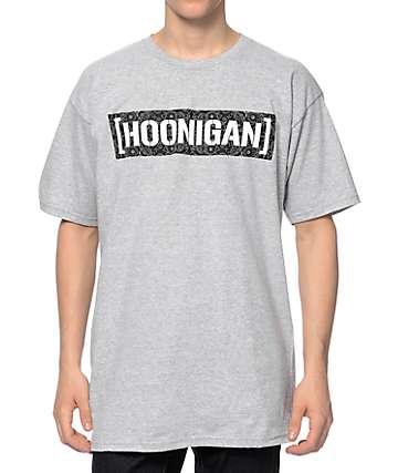 Hoonigan C Bar Bandana Grey T-Shirt