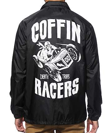 Hoonigan Coffin Racers Coach Jacket