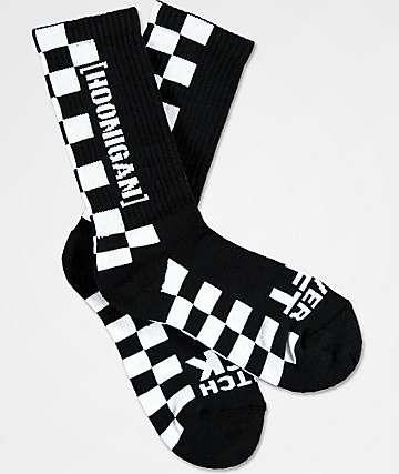 Hoonigan Finish Line Crew Socks