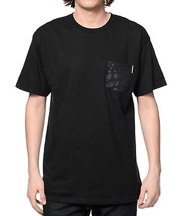 Hoonigan Gymkhana 8 Black Pocket T-Shirt