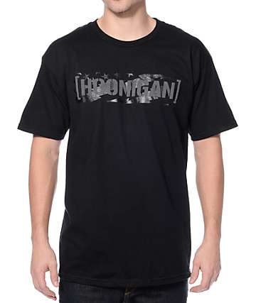 Hoonigan Gymkhana 8 C Bar Black T-Shirt
